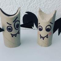 DIY Chauve-souris en rouleau de papier W.C.