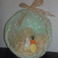 DIY Œufs de Pâques en laine